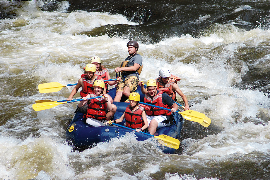 Rafting on the Pigeon River, Tennessee