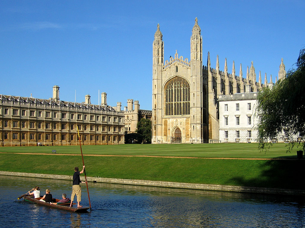 CURSO EN CAMBRIDGE - COLLEGE