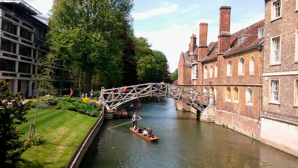 Qué ver en Cambridge Mathematical Bridge